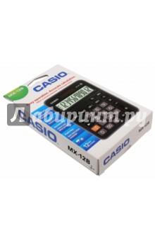 Калькулятор настольный Casio черный/коричневый, 12-разрядный (MX-12B)