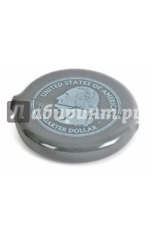 Монетница Silver Quarter (25547)Другие офисные принадлежности<br>Представляем вашему вниманию монетницу Silver Quarter.<br>Материал: силикон.<br>Сделано в Испании.<br>