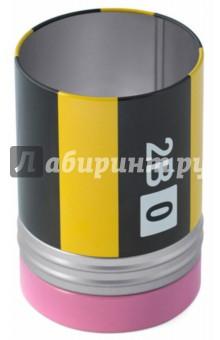 Настольный пенал Crayon (26138)Подставки, стаканы<br>Настольный пенал Crayon.<br>Материал: металл.<br>Сделано в Испании.<br>