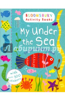 My Under The Sea. Sticker Activity BookЛитература на иностранном языке для детей<br>Does an octopus really have eight legs and a clownfish no legs? You ll find out when you go under the sea with all the magical creatures that live there and have watery sticker fun as you go. <br>Bloomsbury Activity Books provide hours of colouring, doodling, stickering and activity fun for boys and girls alike. Every book includes enchanting, bright and beautiful illustrations which children and parents will find very hard to resist. Perfect for providing entertainment at home or on the move!<br>