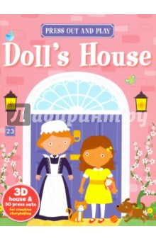 Press Out and Play. Doll's House
