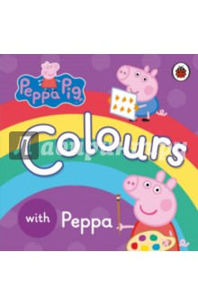 Peppa Pig. Colours. Board BookЛитература на иностранном языке для детей<br>Learn all your colours with Peppa. A first concept book perfect for the very youngest Peppa Pig fan! With simple text and pictures this chunky board book is ideal for little hands. Peppa Pig is a BAFTA award-winning pre-school animation, shown daily on Five s Milkshake and Nick Jnr.<br>