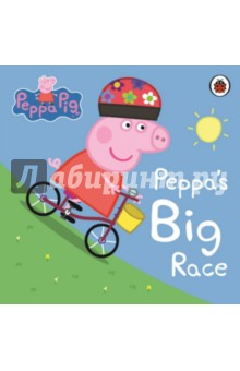Peppa Pig. Peppas Big Race. Board bookЛитература на английском языке<br>Peppa and her family enjoy a day of cycling fun in Peppas Big Race. Peppa and her family are going cycling. Peppa loves cycling down the hill but shes not so keen on pedaling back up! So, when Peppa and her friends decide to race, she insists it should be downhill all the way! Will Peppa win the big race? Find out in this board storybook, thats perfect for reading and sharing together. There are lots more Peppa Pig books from Ladybird for you to enjoy including: Peppa Goes Skiing, Georges New Dinosaur and many more.<br>