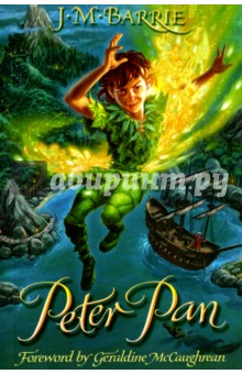 Peter PanЛитература на английском языке<br>The night that Peter Pan flies into the Darling childrens nursery is the night that magic flies into their lives. Its the night that Wendy and her brothers follow Peter out of the window and soar through the sky to Neverland. Its the night that they discover a world of mermaids, fairies, and pirates, of lost boys, and of the terrible Captain Hook.<br>