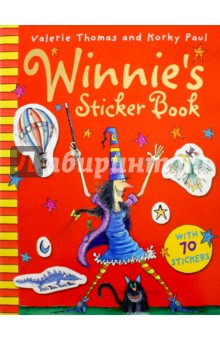 Winnies Sticker BookИзучение иностранного языка<br>Abracadabra! It s time for some sticker magic! This fantastic sticker book has all you need for hours of fun with Winnie the Witch and her cat Wilbur. Find the re-usable stickers to complete the pictures and create your very own magical Winnie scenes.<br>