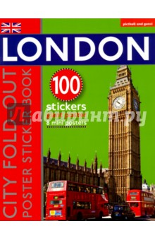 London: fold-out Poster Sticker Book