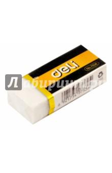 Ластик Deli 42x17x10 мм каучук белый (E7536)