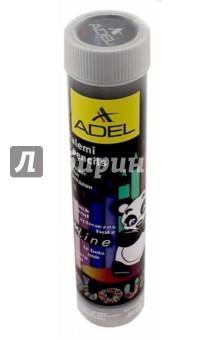 Карандаши цветные 12 цветов Adel BlacklinePB (211-2312-003/813991)Цветные карандаши 12 цветов (9—14)<br>Карандаши цветные.<br>12 цветов.<br>Черное дерево.<br>Шестигранные.<br>Толщина 3 мм.<br>Упаковка: пластиковый тубус.<br>Сделано в Турции.<br>