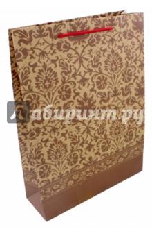 """Пакет бумажный """"Ажур"""" (24х33х8 см) (43733) Феникс-Презент"""