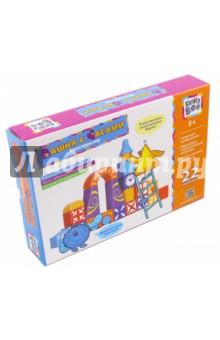 Конструктор Башня с часами, 22 детали (65887)Конструкторы из пластмассы и мягкого пластика<br>Конструктор поможет малышу развить воображение и сформировать геометрическую интуицию, а также научит мыслить творчески.<br>22 элемента, 13 форм, 6 цветов.<br>Материал: пластмасса.<br>Упаковка: картонная коробка.<br>Для детей от 3 лет.<br>Сделано в Китае.<br>