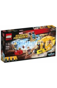 Конструктор LEGO Super Heroes. Месть Аеши (76080)Конструкторы из пластмассы и мягкого пластика<br>Аиша атакует Звёздного Лорда на своем космическим корабле! Отправьте Йонду на спасательную операцию и выстрели мощным снарядом с пружинным механизмом по красной скале, чтобы спустить Аишу с обрыва. Вместе Супергерои из Стражей галактики могут победить!<br>Материал: пластмасса.<br>Детям от 7 лет до 14 лет.<br>Не рекомендовано детям младше 3-х лет. Содержит мелкие детали.<br>