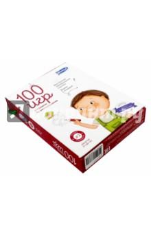 100 игр. Уровень 2 (красный)Карточные игры для детей<br>100 игр (Умница) - это комплект карточек с играми, заданиями, головоломками, который поможет развить логическое и творческое мышление малышей. На двухсторонних ламинированных с безопасными закругленными краями, упакованных в удобную сумочку, можно рисовать маркером и стирать ответы (маркер входит в комплект). Этот увлекательный и полезный набор поможет занять малыша в дороге, на даче, в гостях или дома. При этом необязательно играть в одиночку - это отличная идея для мозгового штурма, конкурса, командной игры или квеста с заданиями и спрятанными призами!<br>С помощью комплекта 100 игр малыш научиться нестандартно, образно мыслить, и анализировать информацию. Игровые задания подобраны нейропсихологом, кандидатом психологических наук, доцентом кафедры клинической психологии ФГБОУ ВПО Южно-Уральский государственный университет (НИУ), Алёной Васильевной Астаевой. <br>Возраст: 3-7 лет.<br>В комплекте: 50 двухсторонних карточек, маркер.<br>