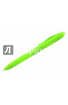"Ручка шариковая автомат ""P1 touch colours"", зеленая (MI-176555124) Milan"