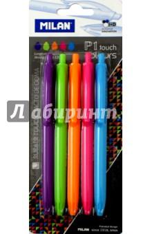 Набор ручек шариковых, 5 цветов P1 touch colours (MI-BWM10303)Наборы шариковых ручек<br>Набор ручек шариковых.<br>5 штук, 5 цветов.<br>Упаковка: блистер.<br>Сделано в Германии.<br>