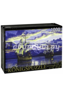 Puzzle-1000 Корабли Джорджа Ванкувера (АЛК1000-6503)Пазлы (1000 элементов)<br>Пазл.<br>Количество элементов: 1000.<br>Размер собранной картинки: 685х485 мм<br>Материалы: картон.<br>Упаковка: картонная коробка.<br>Сделано в России.<br>