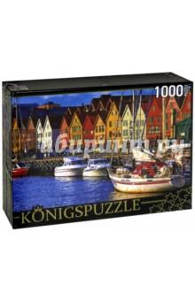 Puzzle-1000 Причал (КБК1000-6492)Пазлы (1000 элементов)<br>Пазл.<br>Количество элементов: 1000.<br>Размер собранной картинки: 685х485 мм<br>Материалы: картон.<br>Упаковка: картонная коробка.<br>Сделано в России.<br>