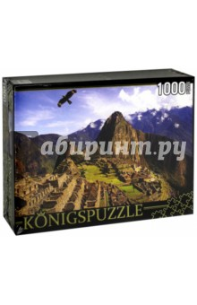 Puzzle-1000 Мачу-Пикчу (КБК1000-6502)Пазлы (1000 элементов)<br>Пазл.<br>Количество элементов: 1000.<br>Размер собранной картинки: 685х485 мм<br>Материалы: картон.<br>Упаковка: картонная коробка.<br>Сделано в России.<br>