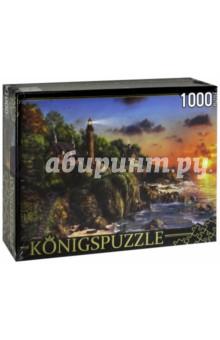 Puzzle-1000 Маяк у моря (МГК1000-6460)Пазлы (1000 элементов)<br>Пазл.<br>Количество элементов: 1000.<br>Размер собранной картинки: 685х485 мм<br>Материалы: картон.<br>Упаковка: картонная коробка.<br>Сделано в России.<br>