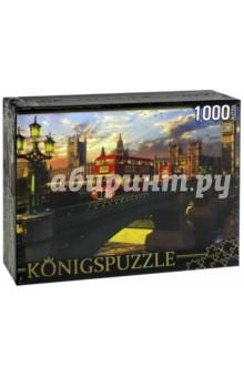Puzzle-1000 Лондонский мост (МГК1000-6489)Пазлы (1000 элементов)<br>Пазл.<br>Количество элементов: 1000.<br>Размер собранной картинки: 685х485 мм<br>Материалы: картон.<br>Упаковка: картонная коробка.<br>Сделано в России.<br>