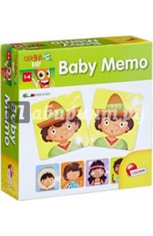 Игра настольная Бэбимэмо (58501)Карточные игры для детей<br>Игровой набор на развитие логического мышления. Baby Memo - игра Мемори направлена на запоминание парных карточек и их расположение.<br>Состав набора: 32 карты (16 пар).<br>Для детей 1-4 лет.<br>Размер коробки: 17,5х18х6 см.<br>Продукт разработан в Италии, в Центре Исследований и Разработки Lisciani.<br>