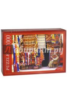 Puzzle-1000. Восточные ковры (КБ1000-6836)Пазлы (1000 элементов)<br>Пазлы - популярная занимательная игра, которая развивает мелкую моторику рук, память, внимание посредством собирания яркой и красочной картинки, состоящей из мелких деталей. <br>Серия 1000 элементов - это огромное разнообразие дизайнов - города и страны, животные и птицы, искусство и живопись и многое-многое другое. <br>Количество элементов: 1000.<br>Размеры собранной картинки: 68,5x48,5 см.<br>Материал: картон.<br>Упаковка: картонная коробка.<br>Сделано в России.<br>