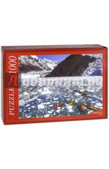 Puzzle-1000. Лодки на ледяной реке (КБ1000-6869)Пазлы (1000 элементов)<br>Пазлы - популярная занимательная игра, которая развивает мелкую моторику рук, память, внимание посредством собирания яркой и красочной картинки, состоящей из мелких деталей. <br>Серия 1000 элементов - это огромное разнообразие дизайнов - города и страны, животные и птицы, искусство и живопись и многое-многое другое. <br>Количество элементов: 1000.<br>Размеры собранной картинки: 68,5x48,5 см.<br>Материал: картон.<br>Упаковка: картонная коробка.<br>Сделано в России.<br>