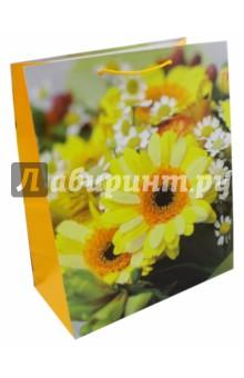 Пакет подарочный ламинированный. Размер: 327х264 мм. (LP 3061)Подарочные пакеты<br>Пакет подарочный ламинированный. Декорирован глитером.<br>Размер: 327х264 мм.<br>Ручки: текстиль.<br>