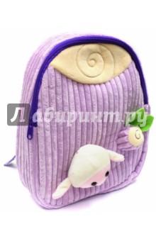 Рюкзак детский Барашек (вельвет) (43454)Рюкзаки для малышей<br>Рюкзак детский имеет:<br>- 1 большое отделение на молнии.<br>- Ручку для переноски рюкзака в руках.<br>Длина лямок регулируется.<br>Объемные игрушки-аппликации.<br>Материал: полиэстер.<br>Размер: 28х24х8 см.<br>Для детей 3-6 лет.<br>Производство: Китай.<br>