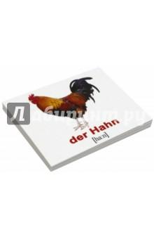 """Комплект карточек Мини-20 """"Haustiere / Домашние животные"""" (немецкий язык)"""