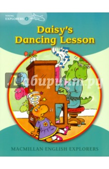 Daisys Dancing LessonЛитература на иностранном языке для детей<br>In these two amusing stories, Daisy the Dinosaur learns to dance and visits the dentist. She discovers that she is not good at everything, and that some fears are unfounded.<br>Macmillan English Explorers have been written specifically for young learners of English. They bring first language teaching methods to reading lessons in international classrooms.<br>