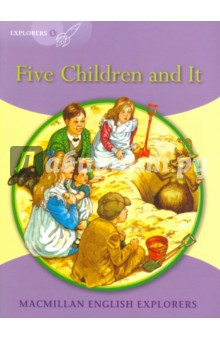 Five Children and ItЛитература на английском языке<br>In this simplified classic, a family of children become friends with an extraordinary creature. None of the wishes he grants them turn out quite right, and they have some exciting adventures.<br>Macmillan English Explorers have been written specifically for young learners of English. They bring first language teaching methods to reading lessons in international classrooms.<br>Adapted by Gill Munton.<br>