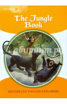 The Jungle BookЛитература на иностранном языке для детей<br>Little Mowgli lives in the jungle with wolves. But not all the animals are happy. Shere Khan the tiger knows that one day the man cub will be a man, and he wants to kill him. Baloo the bear and Bagheera the panther teach Mowgli the laws of the jungle to keep him safe. Will Mowgli kill Shere Khan, or be killed by him?<br>Macmillan English Explorers have been written specifically for young learners of English. They bring first language teaching methods to reading lessons in first foreign language classrooms.<br>Adapted by Gill Munton.<br>