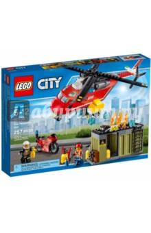 Конструктор LEGO City. Пожарная команда быстрого реагирования (60108)Конструкторы из пластмассы и мягкого пластика<br>Конструктор LEGO City. Пожарная команда быстрого реагирования.<br>Для детей 5-12 лет.<br>Упаковка: коробка, картон.<br>