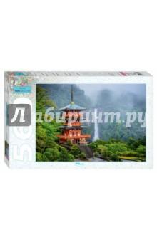 """Puzzle-560 """"Пагода у водопада"""" (78094)"""
