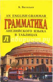 An English Grammar. Грамматика английского языка в таблицах