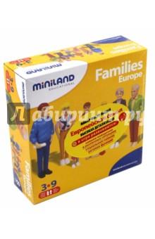 """Набор фигур """"Европейская семья"""" (27395) Miniland Educational"""