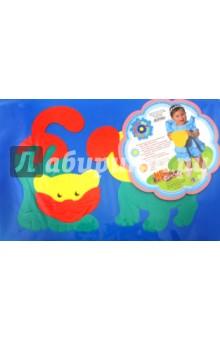 Мозаика  мягкая для малышей Собачка и кошечка (45902)Мозаика<br>Развивающие игрушки для малышей серии Мега-Флексика, также как мозаики и конструкторы серии Флексика выполнены из мягкого полимерного материала.<br>В наборах содержаться крупные детали, что немало важно для малышей.<br>Материал: пенополиэтилен.<br>Для детей от 6-и месяцев. <br>Сделано в России.<br>