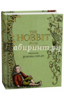The HobbitЛитература на иностранном языке для детей<br>The first new illustrated edition of The Hobbit for more than 15 years contains 150 brand new colour illustrations. Artist Jemima Catlins charming and lively interpretation brings Tolkiens beloved characters to life in a way that will entice and entertain a new generation of readers. Bilbo Baggins is a hobbit who enjoys a comfortable and quiet life. His contentment is disturbed one day when the wizard, Gandalf, and the dwarves arrive to take him away on an adventure. Smaug certainly looked fast asleep, when Bilbo peeped once more from the entrance. He was just about to step out on to the floor when he caught a sudden thin ray of red from under the drooping lid of Smaugs left eye. He was only pretending to sleep! He was watching the tunnel entrance! Whisked from his comfortable hobbit-hole by Gandalf the wizard and a band of dwarves. Bilbo Baggins finds himself caught up in a plot to raid the treasure hoard of Smaug the Magnificent, a large and very dangerous dragon...<br>