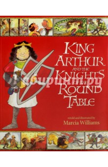 King Arthur and the Knights of the Round TableЛитература на иностранном языке для детей<br>A comic-strip re-telling of some of Britain s best-loved Arthurian stories and legends.<br>Aided by the magician Merlin, Arthur draws the sword from the stone to become King of Britain, and Lord of the Knights of the Round Table. Read of their valiant deeds as King Arthur, Sir Lancelot, Sir Galahad and other heroic knights rescue maidens, defend Excalibur and search for the Grail.<br>