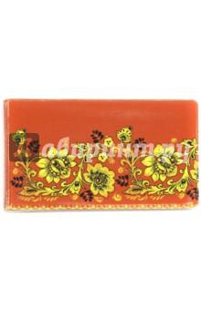 Визитница Красная с цветочками (036004виз001)Визитницы<br>Визитница.<br>20 вкладышей.<br>Материал: пленка ПВХ.<br>Упаковка: пакет с подвесом.<br>Сделано в России.<br>