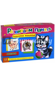 настольная игра Мемо ДОМАШНИЕ ЖИВОТНЫЕ (ИН-2056)Карточные игры для детей<br>Развиваем память с помощью настольной игры Мемо.<br>В наборе 48 карточек.<br>Количество игроков: 2-4.<br>Материал: картон.<br>Упаковка: картонная коробка.<br>Для детей от 3 лет.<br>Сделано в России.<br>