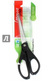 Ножницы 21 см Essentials Green, асимметричные (468110)Ножницы<br>Ножницы  офисные.<br>Длина 21 см.<br>Асимметричные.<br>Упаковка: блистер.<br>Сделано в Китае.<br>