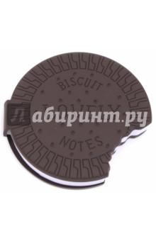 Блокнот самоклеящийся Cookie (100 листов)Бумага для записей с липким слоем<br>Блокнот Cake<br>- мягкая резиновая обложка<br>- 100 листов<br> - самоклеющийся блок<br> - диаметр 9см<br>