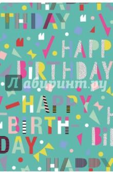 Бумага упаковочная Happy Day (0,7x2 м)Подарочная упаковка<br>Бумага упаковочная. <br>Размер: 0,7 x 2 м.<br>Принты: счастливые дни, день рождения<br>В ассортименте 5 видов бумаги.<br>