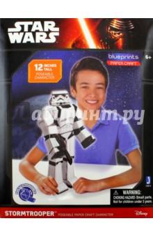 Конструктор из бумаги Star Wars. Stormtrooper (12914)3D модели из бумаги<br>Сборная модель из бумаги.<br>Размер: 30 см. <br>Не рекомендовано детям младше 3-х лет. Содержит мелкие детали.<br>Для детей старше 6-ти лет.<br>Сделано в Китае.<br>