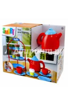 Набор для чая с кексами (1684146.00)Наборы игрушечной посуды<br>Игрушка Набор для чая с кексами.<br>Материал: Полимерные материалы с элементами из металла.<br>Не рекомендовано детям младше 3-х лет. Содержит мелкие детали. <br>Сделано в Китае.<br>