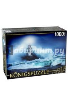 Puzzle-1000 Маяк и шторм (ГИК1000-6531)Пазлы (1000 элементов)<br>Пазл.<br>Количество элементов: 1000.<br>Размер собранной картинки: 685х485 мм<br>Материалы: картон.<br>Упаковка: картонная коробка.<br>Сделано в России.<br>