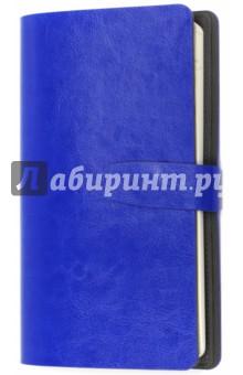 Ежедневник недатированный Iconic (64 листа, 120х210 мм)  (I507NE/blue)Ежедневники недатированные и полудатированные А5<br>Ежедневник недатированный.<br>Формат: 120х210 мм<br>Количество листов: 64<br>Бумага: слоновая кость, 70 г/м2, печать 2+2.<br>Тип линовки: линия<br>Тип крепления: книжное (прошивка)<br>Обложка: съемная, гладкая глянцевая искусственная кожа.<br>Цвет: синий.<br>Особенности: отделение для авиабилетов и банковских карт, магнитный клапан, скругленные уголки, ляссе, форзац - искусственная кожа, информационный блок.<br>Сделано в Китае.<br>