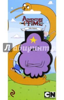 Закладка фигурная Принцесса ПупыркаЗакладки для книг<br>Официальные продукты по вселенной популярного мультсериала!<br>Впервые на рынке большие магнитные закладки с изображением персонажей Adventure time! Яркие дизайны и необычный формат! Фигурные закладки из плотного ламинированного картона позволяют выделять странички и выделяться из толпы!<br>