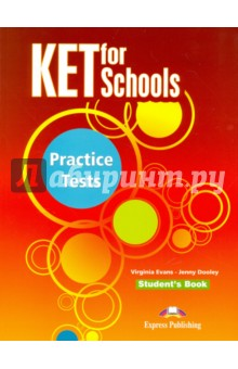 KET for Schools Practice Tests. Students Book. УчебникИзучение иностранного языка<br>КЕТ for Schools Practice Tests is a collection of ten complete practice tests written in line with the specifications for the KET for Schools examination. The tests in this collection reflect the KET for Schools syllabus, both in content and format, and therefore provide thorough, systematic exam preparation and practice. <br>Key features:<br>- The ten tests cover the range of topics, vocabulary and structures included in the KET for Schools syllabus. <br>- The recorded material on the accompanying audio CDs, with instructions, pauses and repeats, provides genuine examination conditions for the Listening Test. <br>- Photocopiable sample answer sheets provide students with valuable practice in transferring their answers from the exam papers within the time limits of the real exam. <br>- The Teacher s Book contains all the Student s Book material with the answers overprinted, model answers for the Writing Paper, tapescripts of the recorded material and expanded versions of all Speaking Tests with suggested answers.<br>